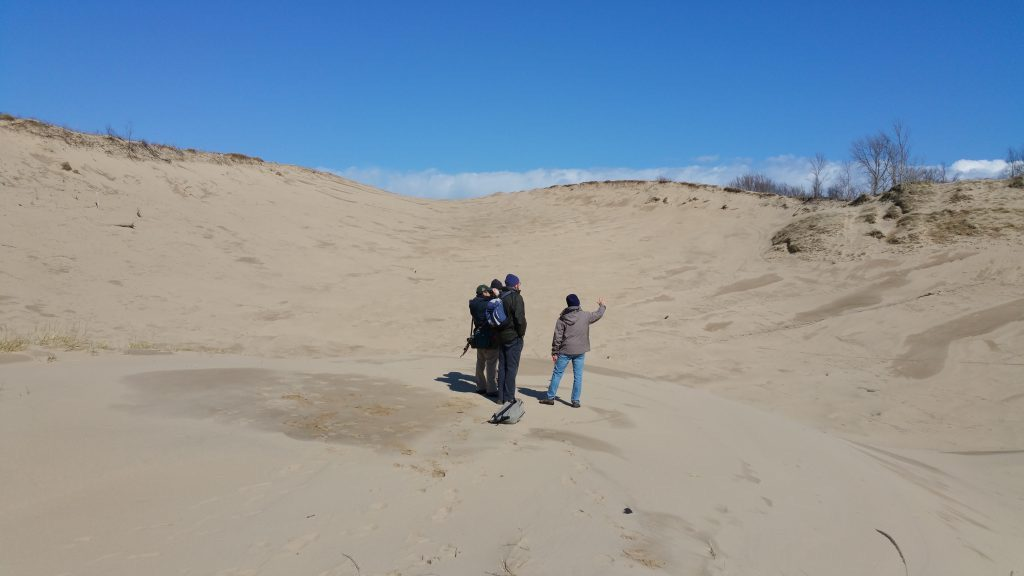 Coastal Dunes Researchers